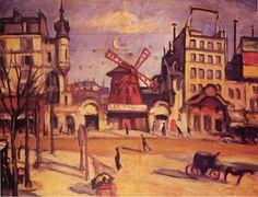 Charles Camoin, L'extérieur du Moulin Rouge