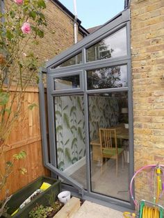 lean to conservatory side return Lean To Roof, Garden Room Extensions, Victorian Homes, Glass Extension, House Siding, House Exterior, Exterior Design, Conservatory Extension, Victorian Terrace