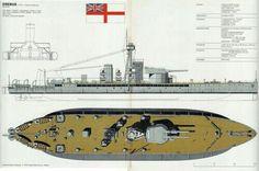 HMS Eribus Monitor  WW I