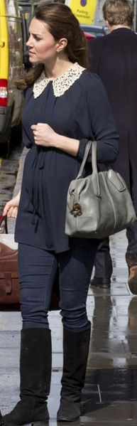 Go grey like Kate Middleton