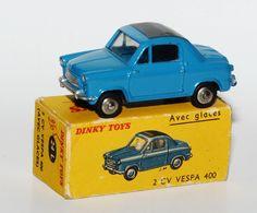 Dinky Toys Nr. 24L - 2 CV Vespa 400 in originaler Box