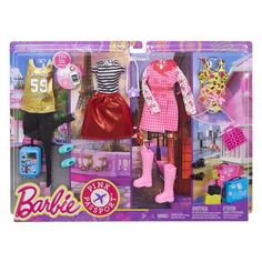2017 BARBIE FASHIONISTA DOLL CLOTHES GRAPHIC DESIGN PACK GOALS PRINT SKIRT ONLY