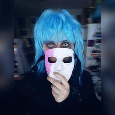 """ make-up & edit by 💙🎸🎭 Sally, Halloween Face Makeup, Make Up, Cosplay, Maquillaje, Awesome Cosplay, Beauty Makeup, Makeup, Bronzer Makeup"