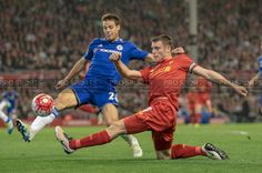 Caught Light Photography's shot of James Milner, Liverpool FC taken while working for Pro Sports Images
