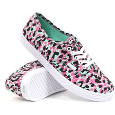 Vans Women's Authentic Lo Pro (Mixed Beach Glass/Pink) Women's Shoes (€31) ❤ liked on Polyvore featuring shoes, sneakers, vans, flats, zapatillas, multi, flat pumps, vans sneakers, pink flats and flat heel shoes