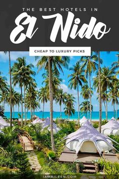 Make the most of your stay in Palawan with this list of best hotels in El Nido: from affordable to luxury choices! // #Hostel #BudgetTravel #LuxuryTravel Beautiful Hotels, Beautiful Places To Visit, Hotels And Resorts, Best Hotels, Palawan Tour, Water Villa, Water Activities, Island Resort, Travel And Leisure