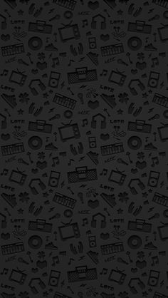 nice LOVE MUSIC iPhone5 スマホ用壁紙