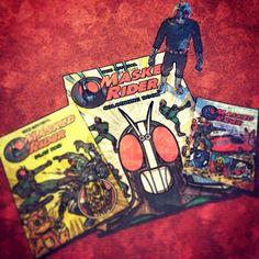 Kamen Rider lucky find in Rhyl