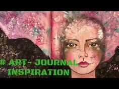 ART JOURNALING, TEXTURE PASTE, #ARTJOURNALINSPIRATION - YouTube