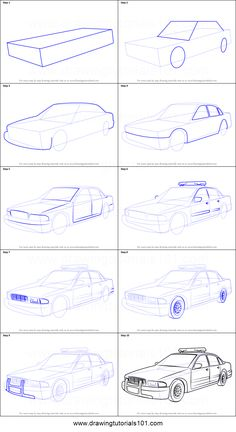 how to draw a bugatti chiron step by step