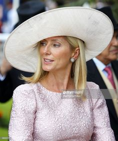 Princess Marie-Chantal of Greece attends Derby Day of the Investec Derby Festival at Epsom Racecourse on June 2014 in Epsom, England. Get premium, high resolution news photos at Getty Images Marie Chantal Of Greece, Royal Monarchy, Greek Royalty, Greek Royal Family, Derby Day, Royal Ascot, Celebs, Celebrities, Beautiful Outfits
