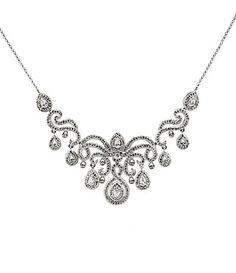 Nadri Baroque Frontal Necklace