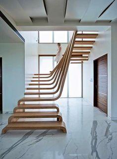 """Képtalálat a következőre: """"escada de madeira moderna"""""""