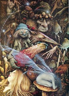 Brian remains one of favourite artists ! ! Brian Froud                                                                                                                                                     More