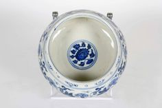 Chinese Ming Dynasty Blue and White Porcelain Bowl | From a unique collection of antique and modern ceramics at https://www.1stdibs.com/furniture/asian-art-furniture/ceramics/