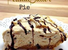 Chocolate Chip Peanutbutter Pie recipe