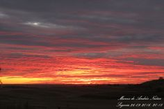 Puesta de sol 26 septiembre de 2016. Segovia. Sunset.