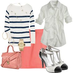 Great spring work outfit. I llloooovveeeee those shoes!!!!!!