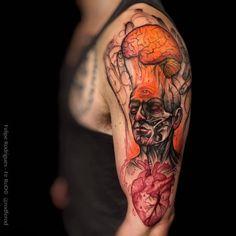 Awesome Tattoo Ideas — Awaken Third Eye Tat by Felipe Rodrigues...