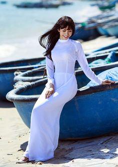 áo dài trắng - Kenh14.vn