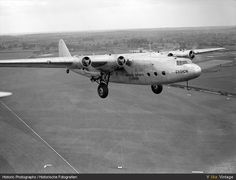 Armstrong Whitworth A.W.27 Ensign 12 of Imperial Airways takes to the skies 1938