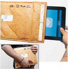 La funda de tablet que parece un sobre acolchado (¡oh, wait!)