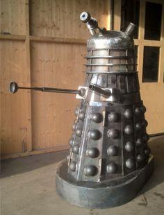 DOCTOR WHO Dalek Wood Burning Fire Pit