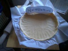 Pâte sablée - Recette de cuisine Marmiton : une recette