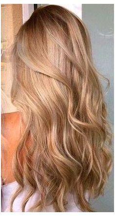 Carmel Blonde Hair, Summer Blonde Hair, Blonde Hair Shades, Blonde Hair Looks, Strawberry Blonde Hair, Going Blonde, Summer Curls, Blonde Hair Honey Caramel, Thick Blonde Hair