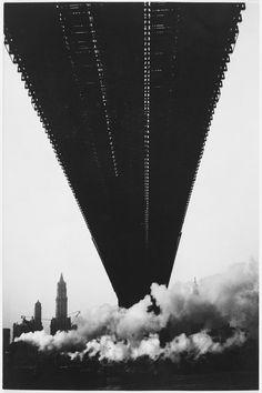 Walker Evans Brooklyn Bridge, New York, 1929 #truenewyork #lovenyc