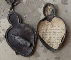 sacred heart locket