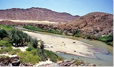 Kunene River, Kaokoveld Portal, Namibia, Skeleton, Coast, Water, Travel, Outdoor, Pictures, Viajes
