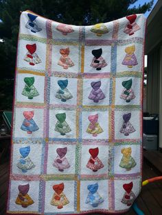 Sunbonnet Sue I made for my daughter