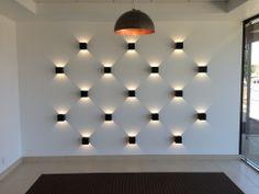 Amazing lines of light created using Prolicht Dice. #Interiordesign #lightingdesign