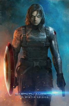 Amazing Winter Soldier Art! This is really nice to look at as a model for a winter soldier costume