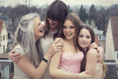 #Family Shooting, #Photography, #Girls, Pink, White Hair Photography by wertvoll fotografie wertvollfotografie.de