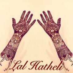 Henna design by lal_hatheli_london ❤️
