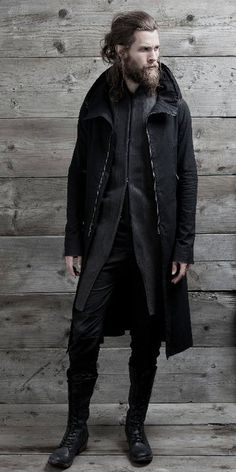 InAisce. Maybe it's because he has a beard and the outfit's black but I could totally see Nathan wearing this.
