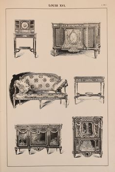 Hey, I found this really awesome Etsy listing at https://www.etsy.com/listing/237867493/french-louis-xvi-furniture-designs-large