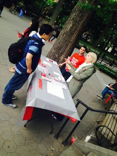 People learning about delete blood cancer