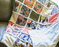Quilting UnPlugged: Soft and Cozy Rag Quilt {sewing tutorial} — SewCanShe | Free Daily Sewing Tutorials