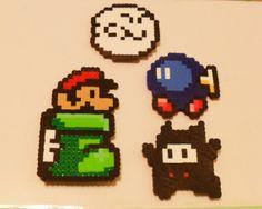 Nintendo Pixel Magnets, pixel art, pixel art magnets, super mario bros pixels, nintendo presents, Retro game gift