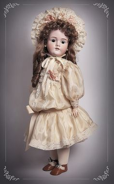 antique doll Kley & Hahn Walkure by dollsformama, via Flickr