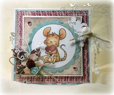 Whiff of Joy stamp Henry Marianne Design, Copics, Kids Cards, Haha, Christmas Cards, Scrap, Teddy Bear, Joy, My Love