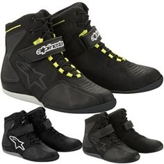 2014 Alpinestars Fastback Road Street Motorcycle Protection Hog Riding Shoes