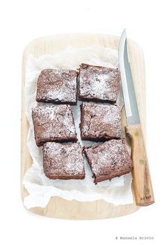 Brownies all'avocado* | This reminds me that I want to learn Italian...  *dairy-free!