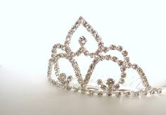 Bridal Tiara Comb  DIY Tiara Veil by WhereDeStash on Etsy, $16.00