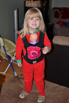 Buckle-style Baby Doll Carrier Tutorial