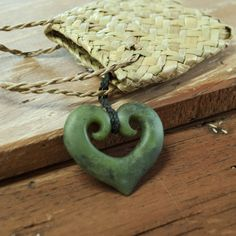 New Zealand Greenstone or Pounamu necklace