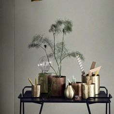 Shiny touches | Décoration de la maison